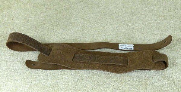 Beswick Standard Unlined leather instrument strap