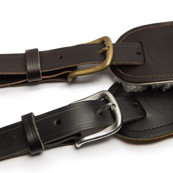 Langtoft buckle from Uber Doofer Premium Leather Guitar and Instrument Straps