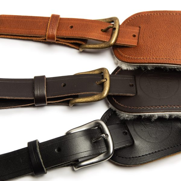 Langtoft family from Uber Doofer Premium Leather Guitar and Instrument Straps