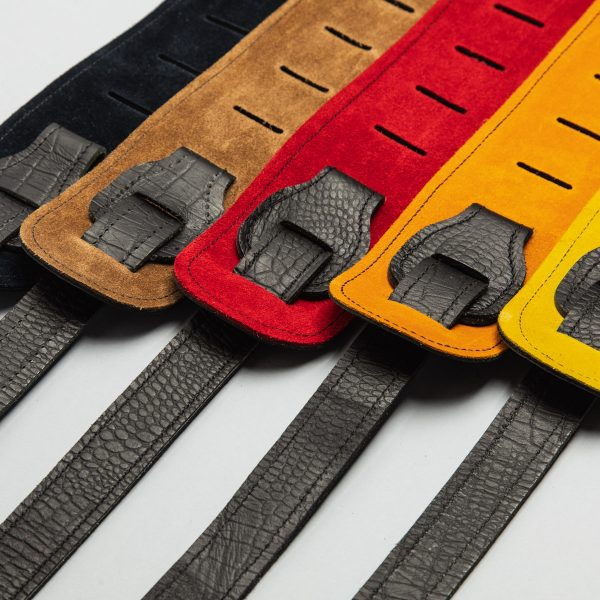 Lisset limited edition premium quality leather guitar straps from Uber Doofer