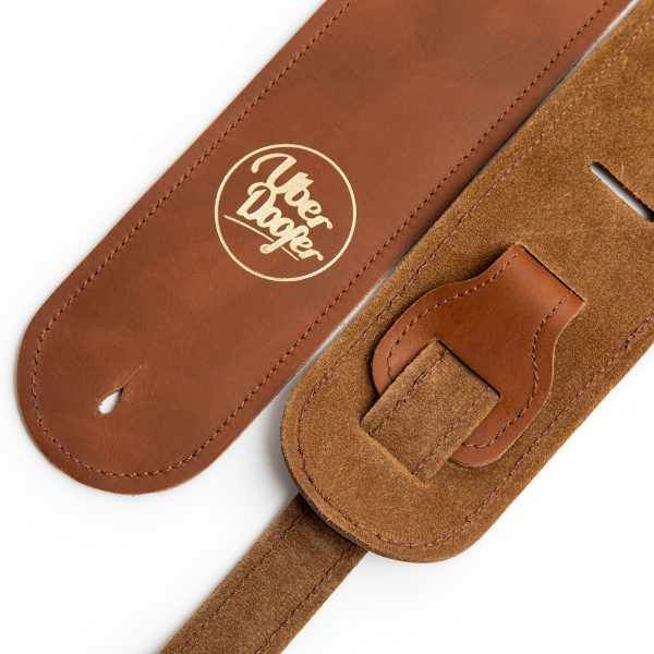 Bainton special limited edition premium quality leather guitar straps from Uber Doofer