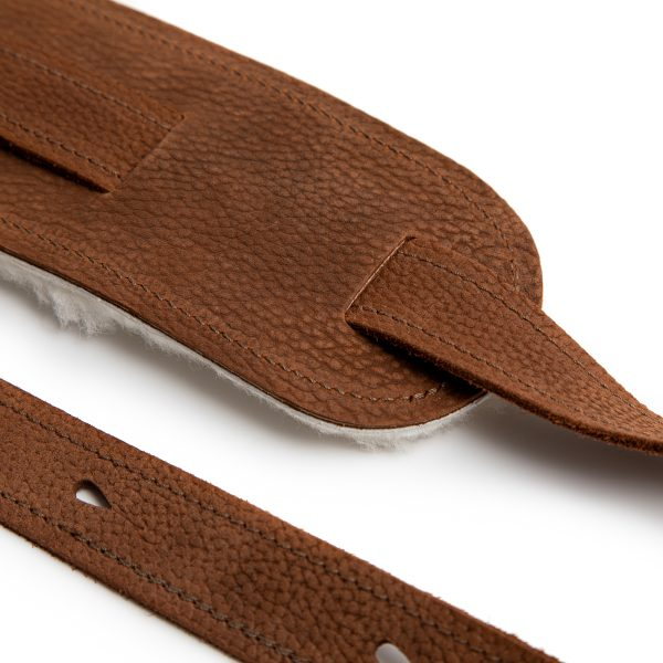 Beswick premium quality leather guitar straps from Uber Doofer